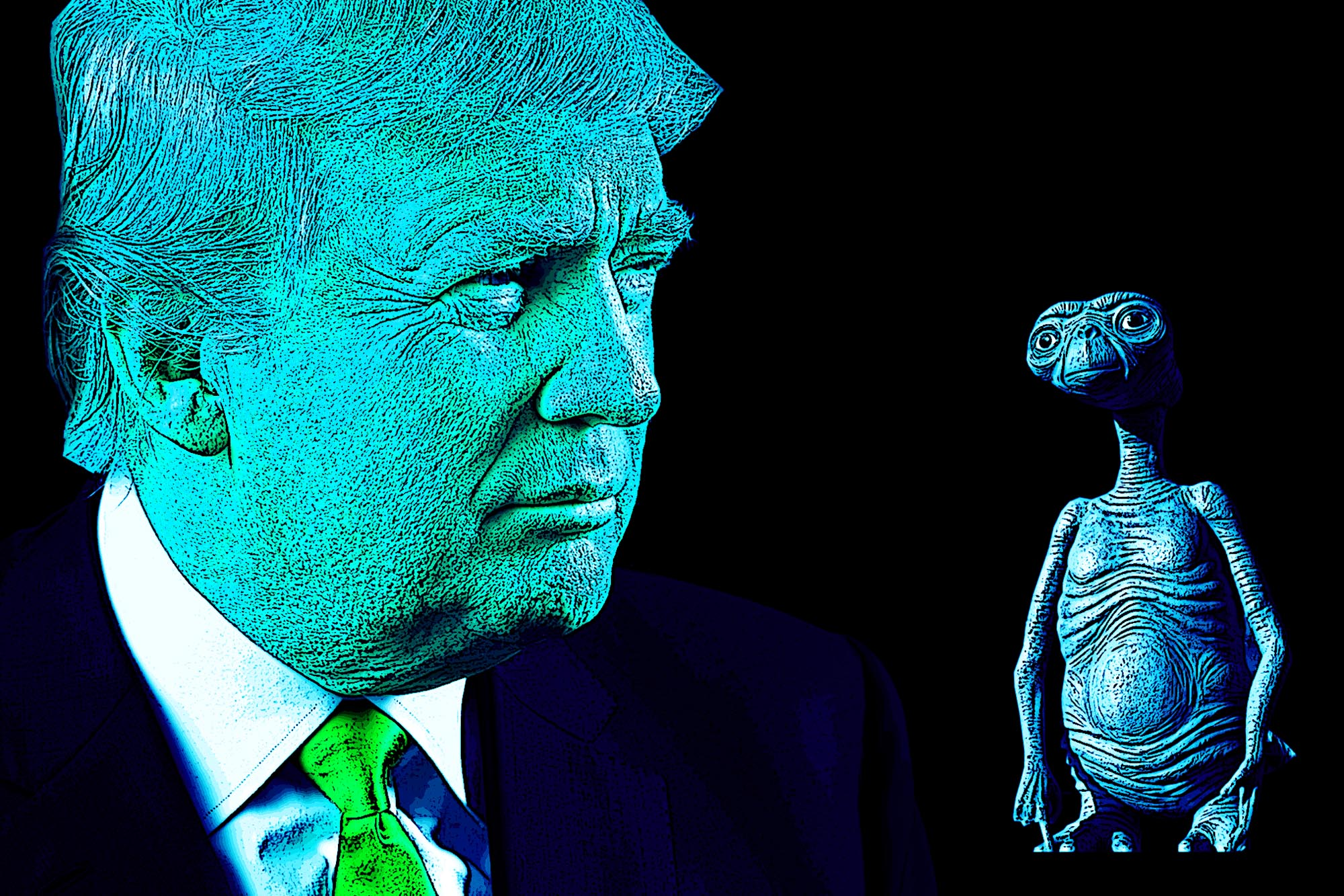 DONALD TRUMP WANTS TO KEEP AREA 51 A SECRET