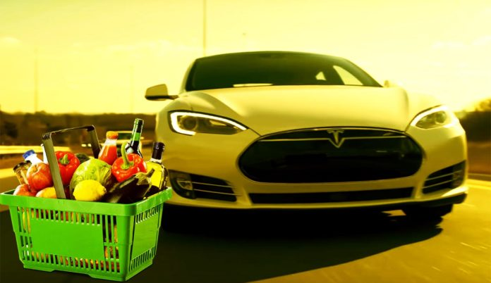 Tesla Will Soon Do Grocery by Itself; No Human Needed