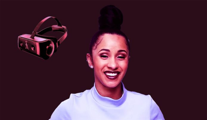 VR Therapy to Help Cardi B Relieve the Pain